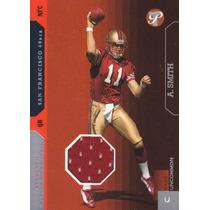 2005 Topps Pristine Rookie Jersey Alex Smith 420/900 49ers