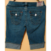 True Religion Jeans Short Para Dama Modelo Sophie 28. Seven