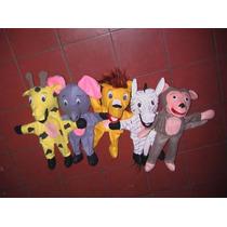 Gcg Coleccion De Titeres Animales Del Zoologico 5 Pzas Css