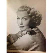Fotos Artistaas Holywood, Lana Turner Ofot Original 25x20 Cm