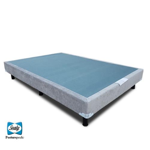 Box spring sealy queen size para cama y base para colchon for Colchon para cama king size