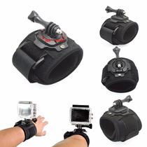Muñequera Gira 360° Gopro Adaptador Wrist Montura Accesorios