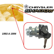 93-94 Chrysler Shadow Switch De Encendido Con Llaves