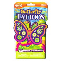 Tatuajes Temporales Butterfly Mariposas Savvi