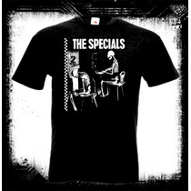 The Specials - Ghost Town Camiseta Two Tone Ska Skin Rudeboy