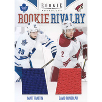 2011 - 2012 R Anthology Jerseys Matt Frattin David Rundblad