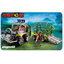 Playmobil 5236 Transporte De T-rex Bebe Dinosaurios !!! Dmm