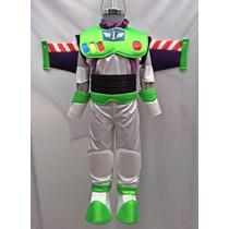 Disfraz Tipo Buzz Lightyear Con Alas Mochila