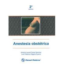 Anestesia Obstetrica. 9707293330