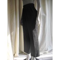 Pantalon Negro Marca Alia Talla G Resorte En Pretina