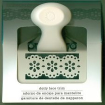 Scrapbook Perforadora Doble Doily Lace Trim Martha Stewart