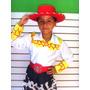 Disfraz Jessie La Vaquerita Sombrero Botas Ni�a Blusa Trenza