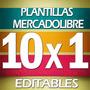 Plantillas Mercado Libre Paga 1 Y Te Llevas 10
