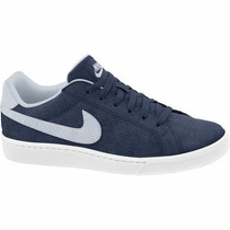 Tenis Nike Azul Court Majestic Suede Skate