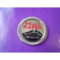 Emblema Jeep Trail Rated 4x4