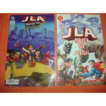 Comics Vid Liga De La Justice Serie Mundo Sin Adultos 2tomo