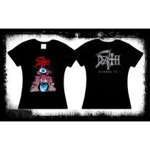 Death - Symbolic Camiseta Y Blusa Death Metal Obituary Evol