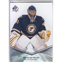 2011 - 2012 Sp Authentic Jaroslav Halak St Louis Blues