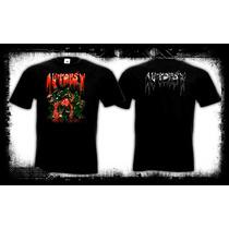 Autopsy - Mental Funeral Camiseta Doom Death Metal