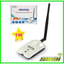 Antena Auditoria Beini Wifi Alfa Awus036h + Montaje 1000mw