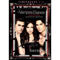 Diarios De Vampiros The Vampire Diaries Love Sucks 1-3, Dvd