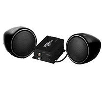 Jefe De Audio Mcbk420b Negro 600 Vatios De La Motocicleta /