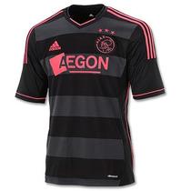Jersey Ajax Holanda Adidas Original Visita 2013-14 Raro