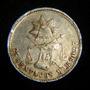 25 Centavos Balanza 1886 Mo Republica Mexicana Plata Moneda