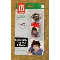 One Direction Collar Con Placa De Liam Artículo Oficial.op4
