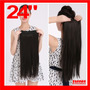 Extensiones 24 Clip On 100% Fibra Natural Abundantes Lacias