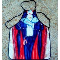 Mandil De Súper Chef, Diseño De Conde Drácula, Vampiro
