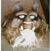 Bestia Niños Mascara Latex Carnavales Fiestas Teatro Ddi