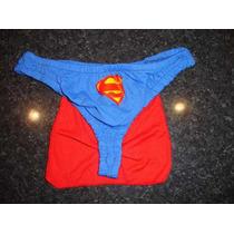 Tanga Para Hombre Superman, Smocking Y Hombre Araña