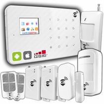Smart Gsm Alarma Seguridad Casa Negocio Oficina Sms Celular