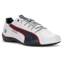 Tenis Puma Nyter Bmw Motorsport Racing Team Blanco Azul Vv4