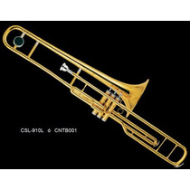 Trombon De Embolos En C (do) Laqueado Century