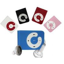 Mp3 Ultra Pequeño Clip Tipo Shuffle Sd Card En Oferta