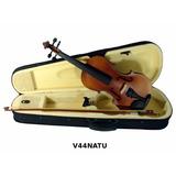 Violin 4/4 Incluye Arco Brea Estuche Color Natural Audiomex