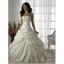 Hermoso Vestido De Novia Strapless Boda Amor