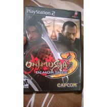 Onimusha 3 Demon Siege Ps2