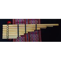 Zampoña Zanca (grande) Marca Kjarkas. Instrumento Musical
