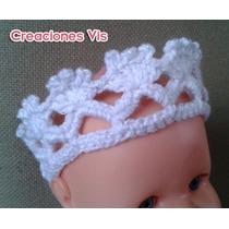 Coronas Y Tiaras Para Princesas Tejido A Crochet