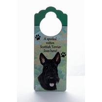 Adorno Para Puerta Scottish Terrier - Unicos!