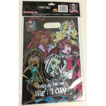 16 Bolsitas Dulceras Originales Monster High Draculaura