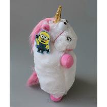 Peluche Mi Villano Favorito Unicornio De 40 Cm