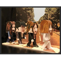 The Beatles Figuras Papercraf