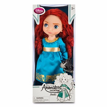 Disney Store Muñecas Animators Merida Originales