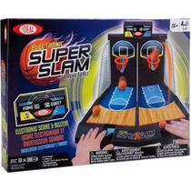 Ideal Juego Electrónico De Super Slam De Baloncesto De Mesa