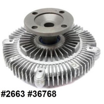 Fan Clutch De Ventilador Isuzu Rodeo 3.2l V6 1998 - 2002