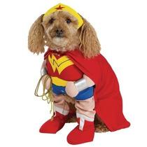 Disfraz De Mujer Maravilla Para Perros, Mascotas